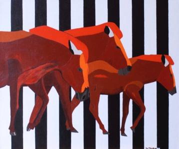 Zeebrapaarden
